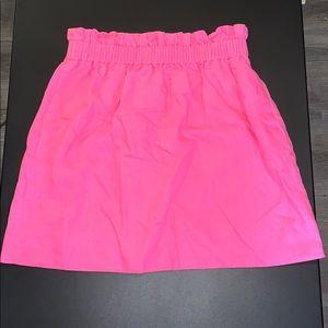 NWT J. Crew Factory Linen Skirt - 4